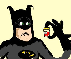 Batman has hematuria