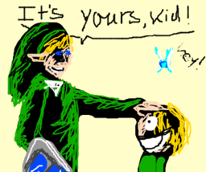 Link: Kid, You can Have this Navi.
