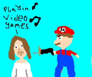 Lana Del Rey killed by video games bf