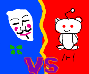 4chan vs  Reddit - Drawception