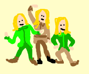 Three elves