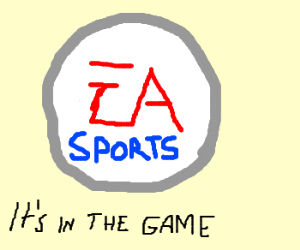 Image result for ea sports it's in the game
