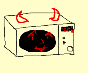 Evil microwave oven