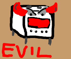 This stove is pure evil!