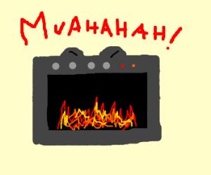 evil oven