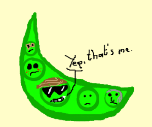 The coolest pea in the pod.