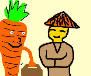 Carrot is off to China
