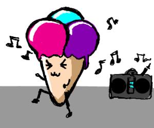 Ice Cream Dancing
