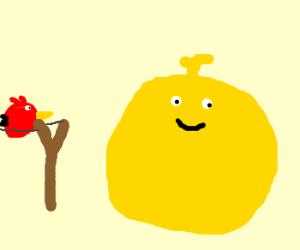 Loco Roco vs Angry Birds