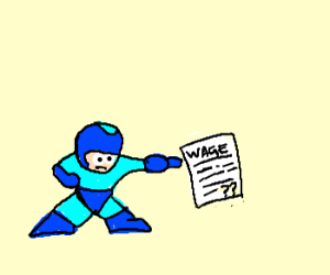 How much ass does megaman get?