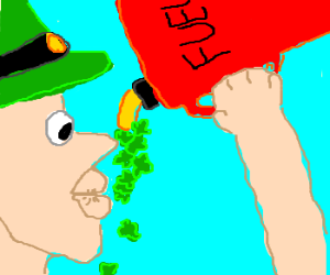 elf with fourleaf clover fuel,perky lips
