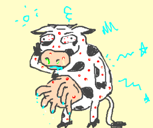 Mad (crazy) and Diseased Cow