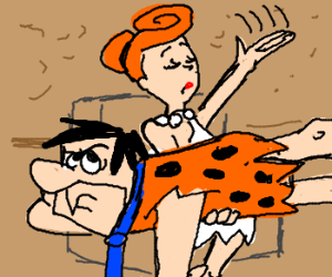 Wilma disciplines Fred