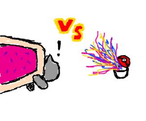 nyancat vs. anonymous pokemon