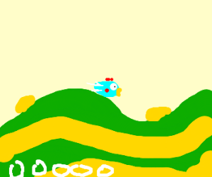 A bad game of Tiny Wings