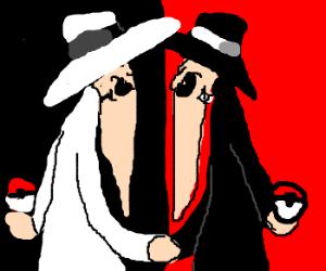 Spy vs Spy with a pokeball
