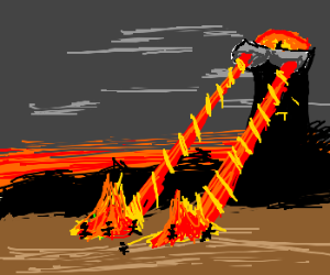 mordor with pyrovision goggles