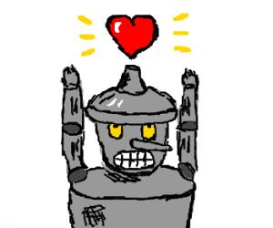 Tinman gets a heart