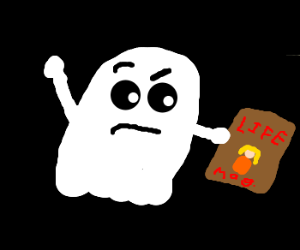 Ghost can't find the magazine he wants