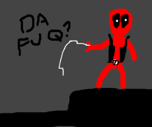 Deadpool Learning To Be Spider-Man