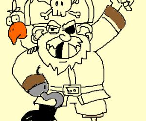 A clasic pirate