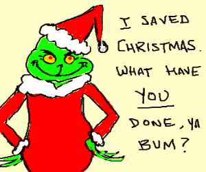 How the Grinch Stole Your Sense of Worth