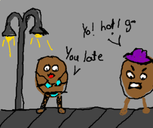 Rapping Potato is a Pimp; Always Late