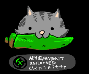 Jalapeno Kitten Achievement unlocked!