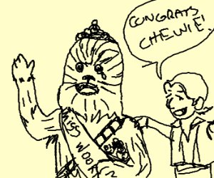 Chewbacca wins beauty pageant