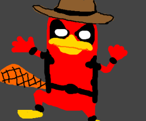 Perry the Platypus is Deadpool.