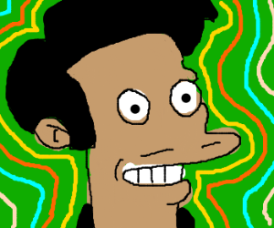 Apu from the simpsons