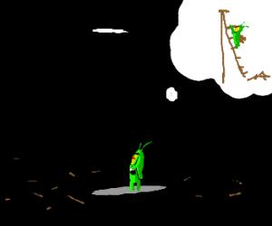 Plankton thinks of a plan