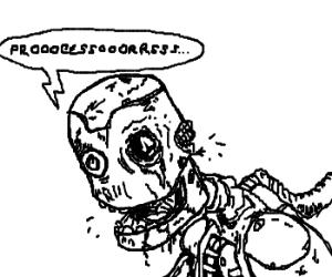 Zombie robot