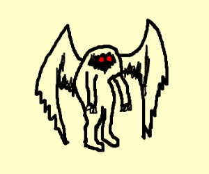 Mothman exists.