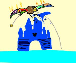 MegaBird attacks Disney World