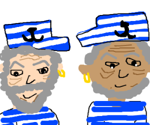 Two old sailors