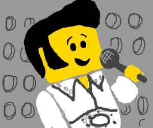 Elvis didn't die, he turned into LEGO.
