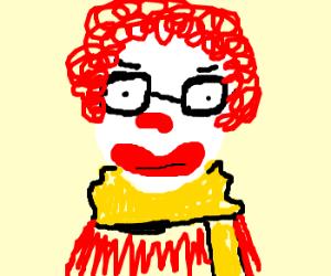 Hipster Ronald McDonald