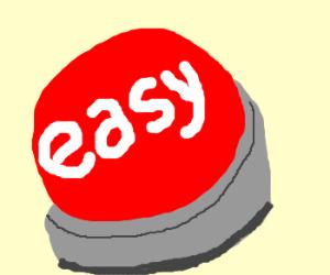 Staples Easy Button Vector