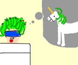 medusa drems of medusa-unicorn