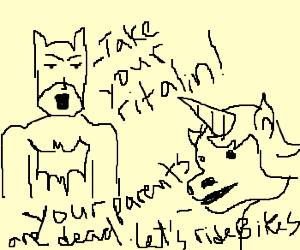 Batman hates unicorns with ADHD