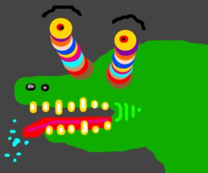 Psychodelic Gator