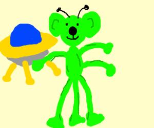 strange alien