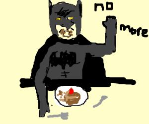 Batman has enough