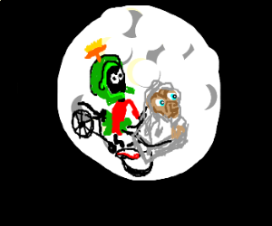 marvin the martian and ET