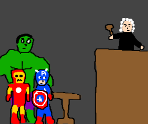 The Avengers on trial