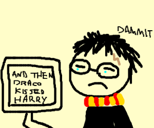 No more Harry Potter fan fiction! - Drawception