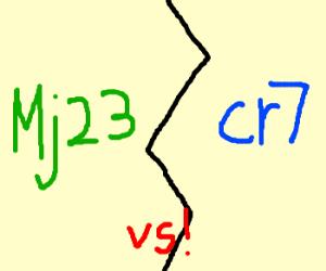 mj23 vs cr7