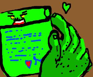 monster love letter