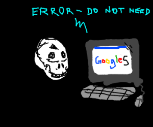Silly Skull, You don't Need Googles